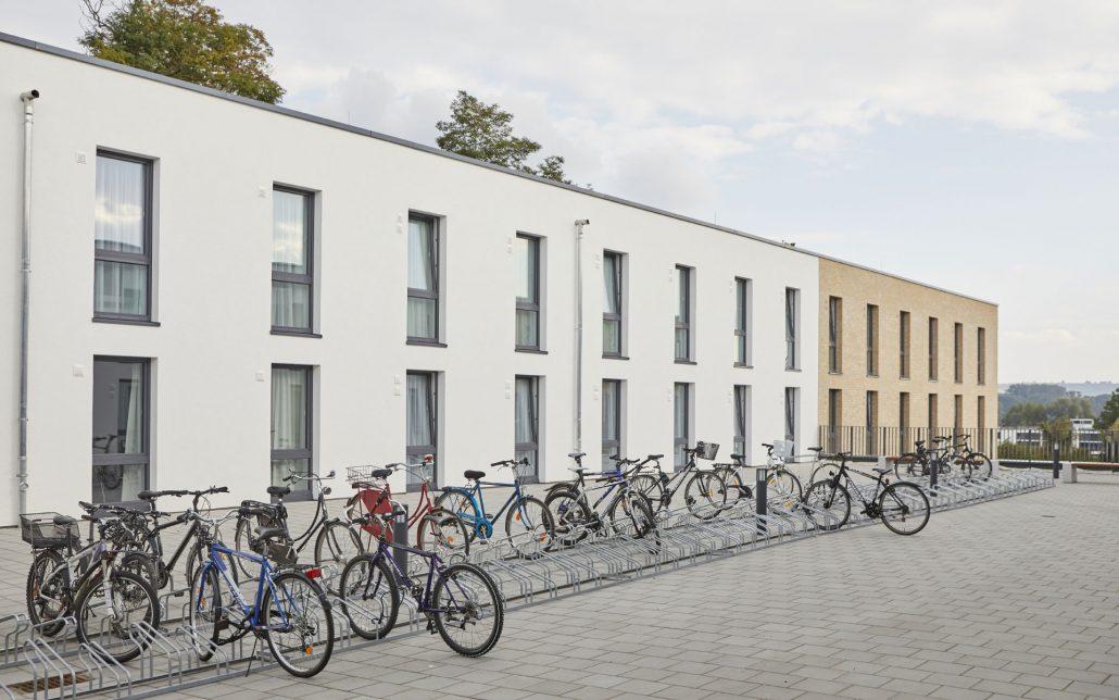 Außenansicht, Rhein Village, Cube Real Estate