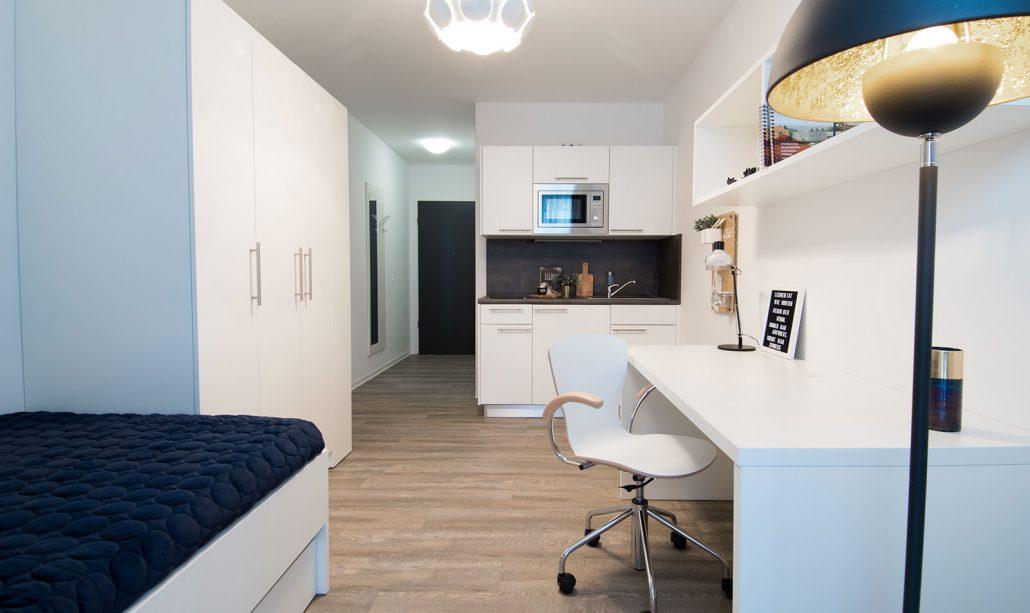 Innenansicht Apartment, Rhein Village, Bild von Cube Real Estate