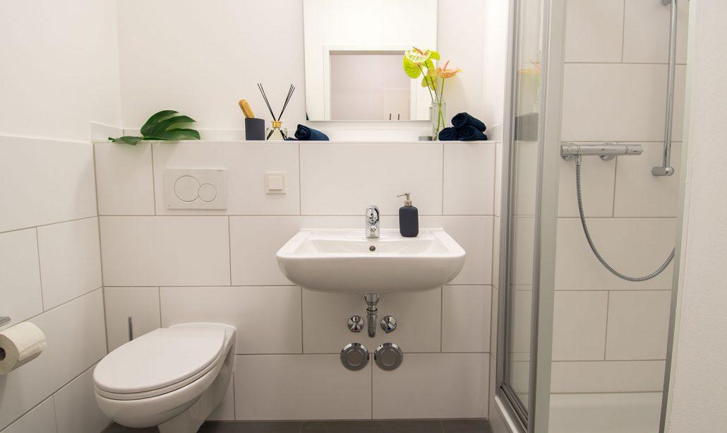 Badezimmer Apartment, Rhein Village, Cube Real Estate