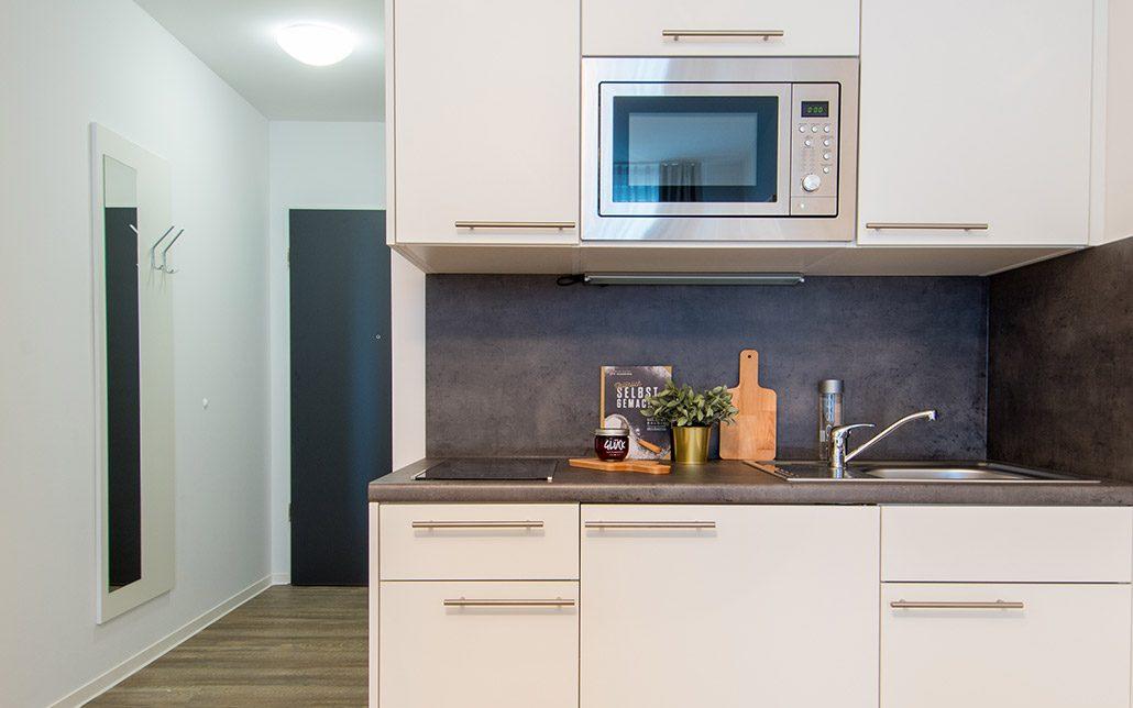 Küche Apartment, Rhein Village, Bild von Cube Real Estate
