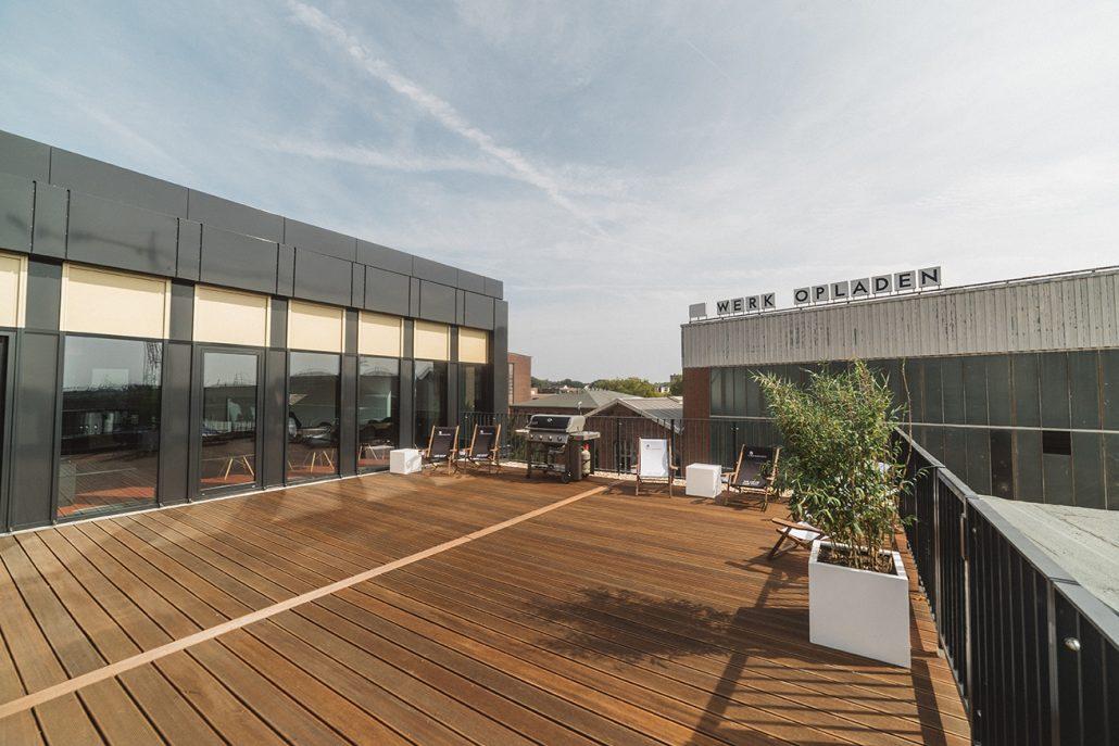 Terrasse, Cube Offices 574, Bild von Cube Real Estate