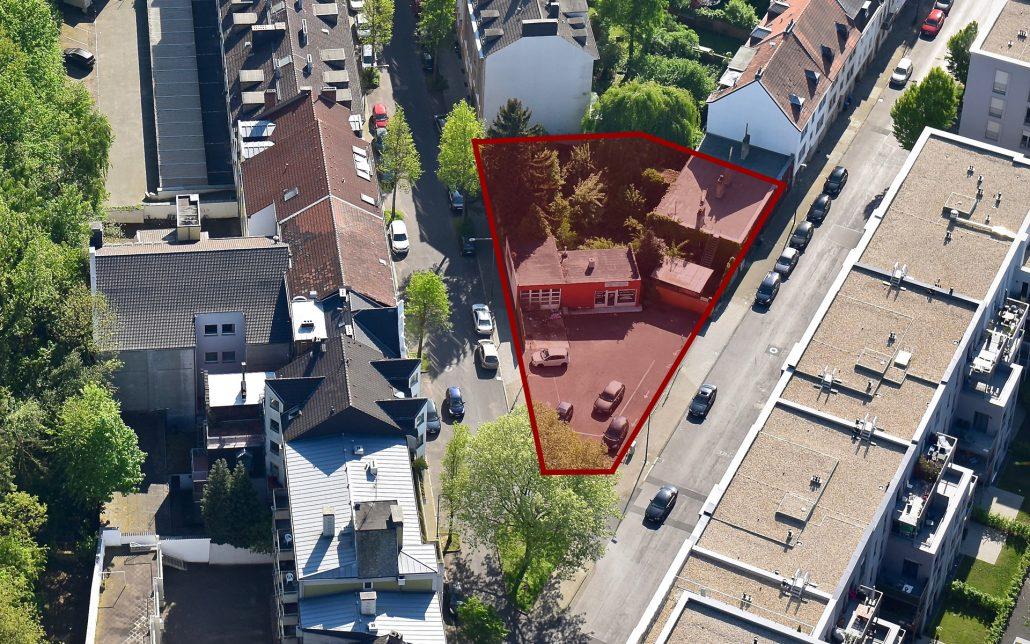 Beverstraße, Luftbild der Cube Real Estate