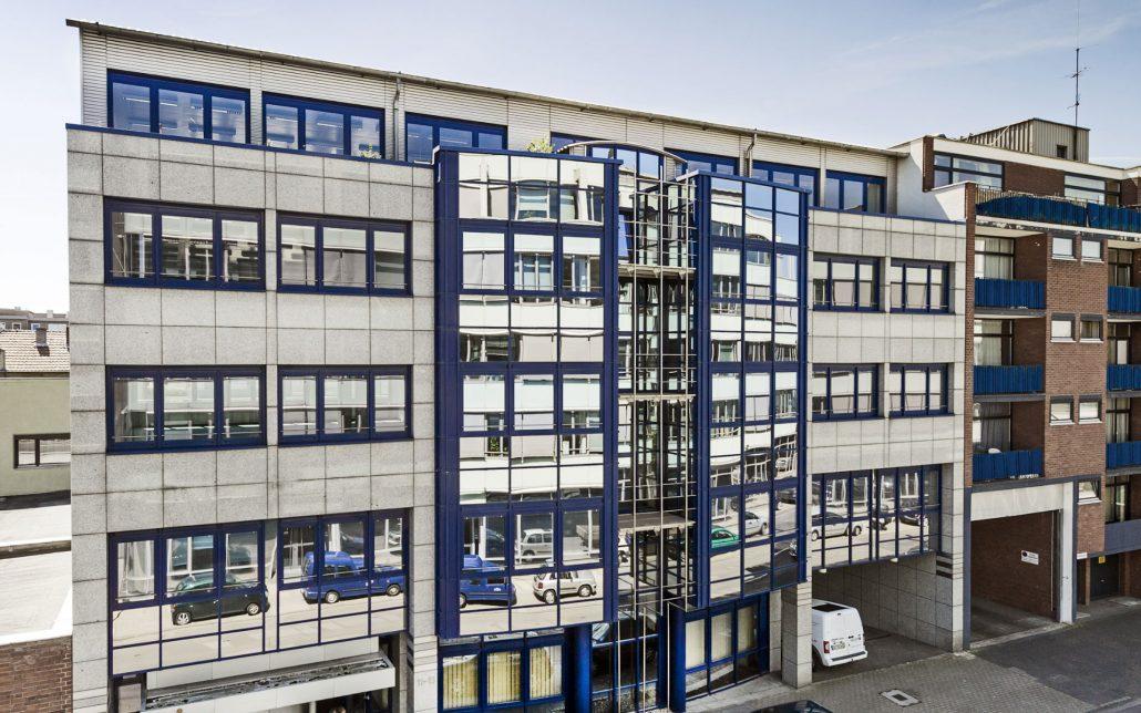 Außenansicht Scheidtweilerstraße in Köln, Bild der Cube Real Estate