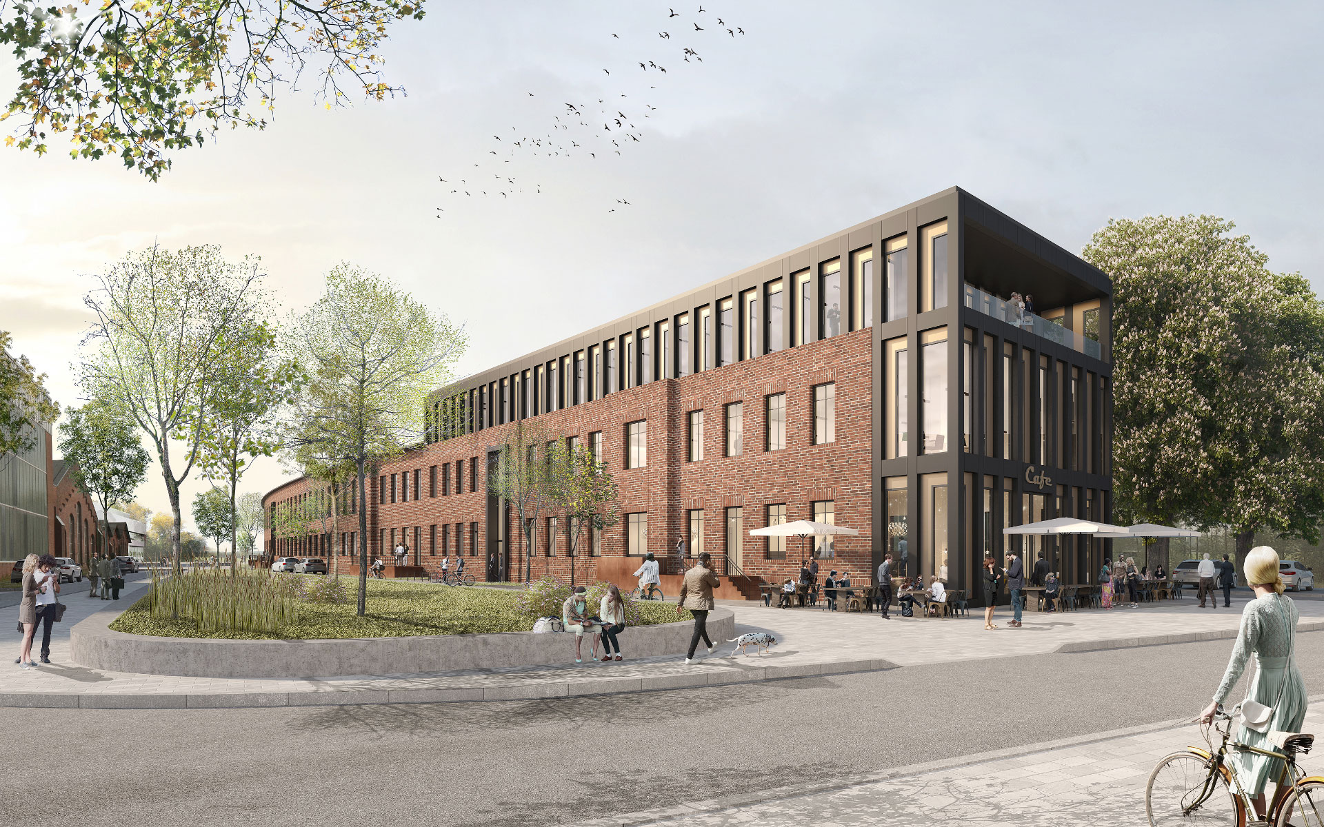 Die Cube Officess in Leverkusen Opladen