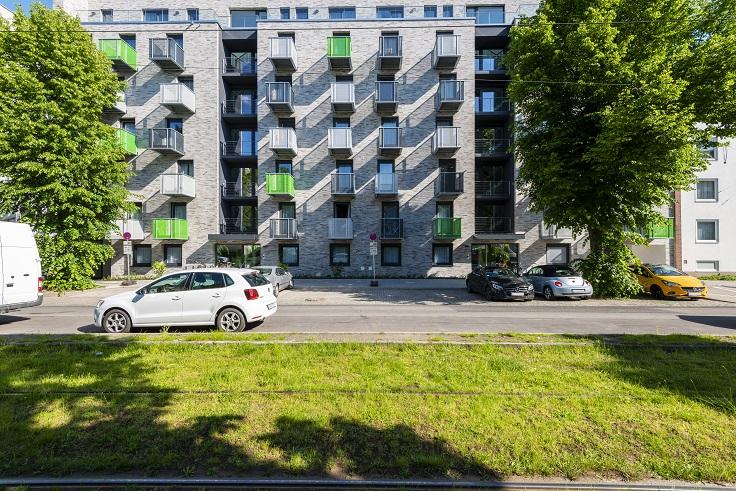 Außenansicht, Merziger Straße, Bild von Cube Real Estate