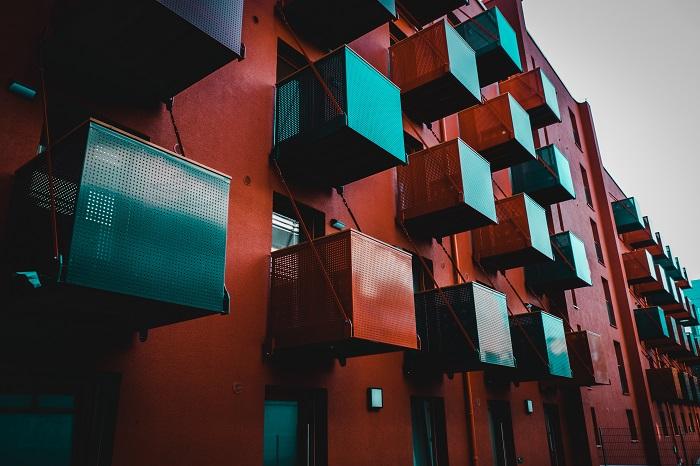 Cube Real Estate, Cube Ruby 923, Balkone