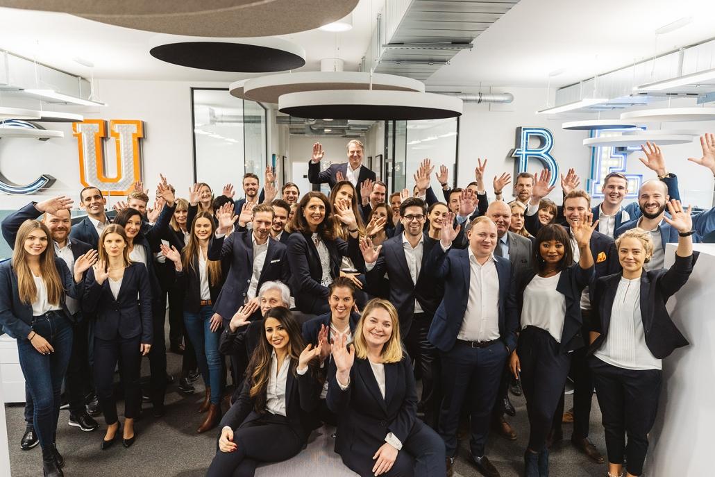 Cube Real Estate, Team, Cube Life, Cube Property Services, drei Niederlassungen in Deutschland für 2020 geplant