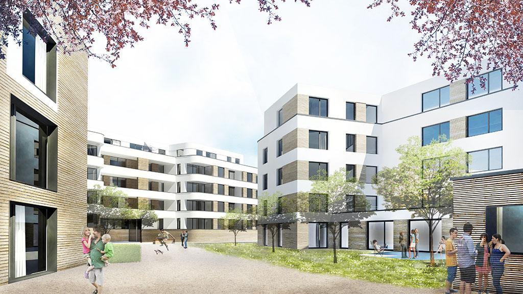 Cube Real Estate, Irishöfe, Köln-Kalk, Immobilienentwicklung, Bauantrag