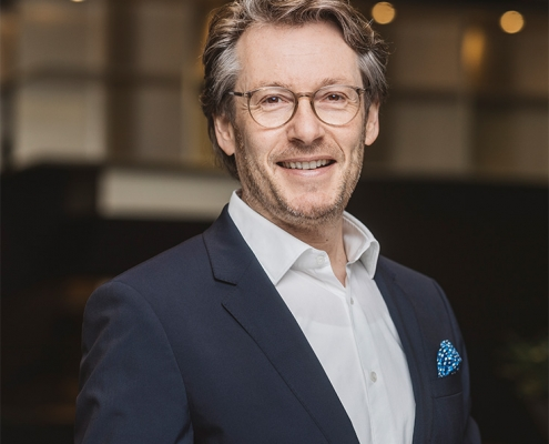 Bernd Hütter, Cube Real Estate, Geschäftsführung