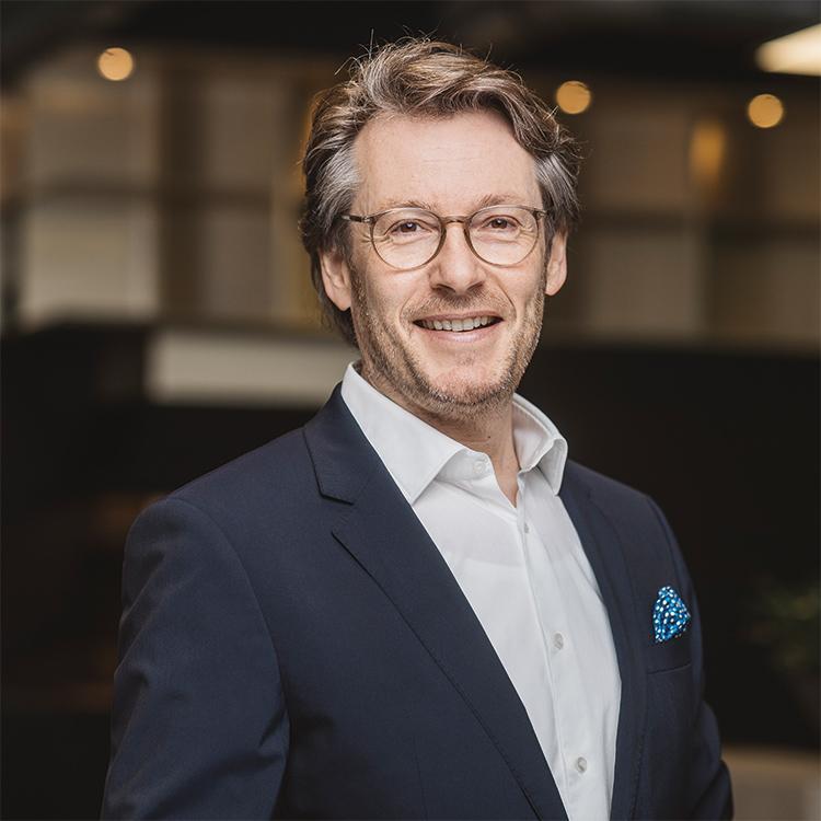 Bernd Hütter, Geschäftsführer Cube Real Estate GmbH