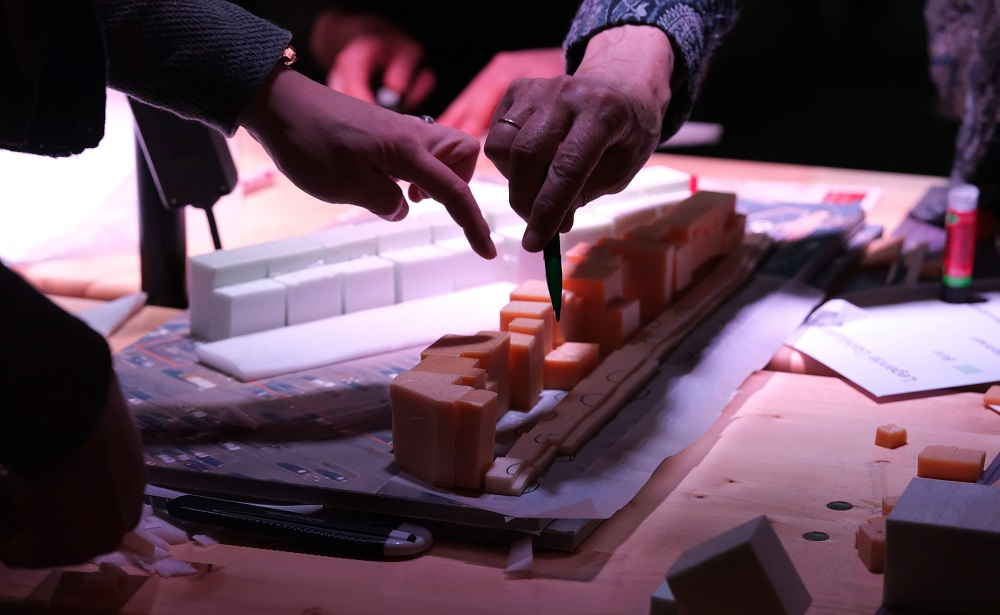 Modellbau beim 3. Treffen der Planwerkstatt 378, Bild der Cube Real Estate